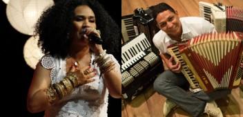 Mariene de Castro faz show com Targino Gondim no Conecta Chapada