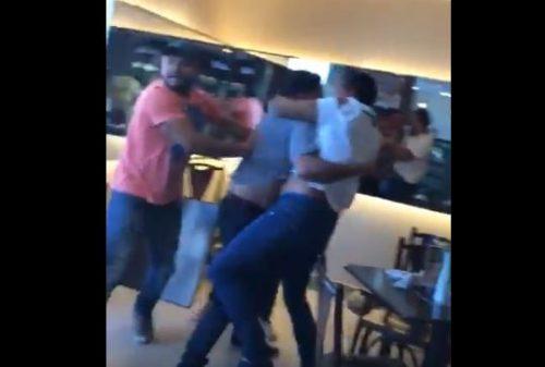 Cantor de forró Saulo Dugado briga em panificadora e é baleado por PM