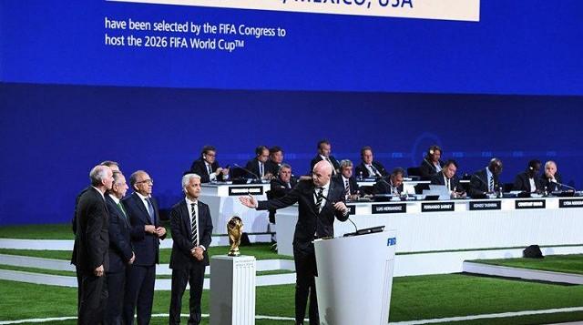 Copa do Mundo de 2026 será sediada por Estados Unidos, Canadá e México