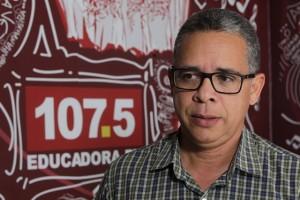 FESTIVAL DE MÚSICA DA EDUCADORA FM Na foto: Leto Vieira - Coordenador do Festival de Música Educadora FM Foto: Paula Fróes/GOVBA