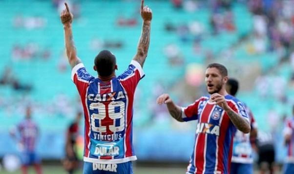Com olé e show de Zé Rafael, Bahia goleia o Vitória na Fonte Nova: 4 a 1