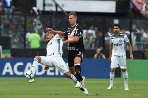Dudu durante Vasco da Gama X Palmeiras,pelo campeonato brasileiro,em Sao Januario,RJ 24/11/2018 Foto: Sergio Barzaghi/Gazeta Press