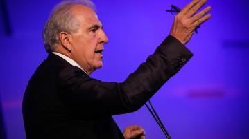 (São Paulo, 09/03/2020) Vice-Presidente da República, Hamilton Mourão durante Cerimônia de Lançamento da CNN Brasil...Foto: Bruno Batista/ VPR