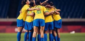Brasil perde para o Canadá nos pênaltis e está eliminado do futebol feminino